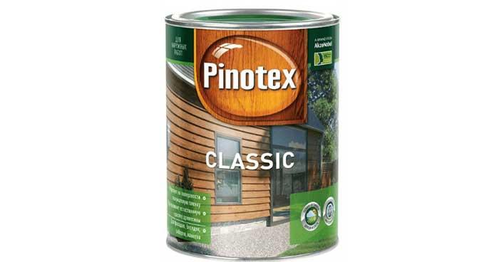 PINOTEX CLASSIC пропитка для защиты древесины 9л орех