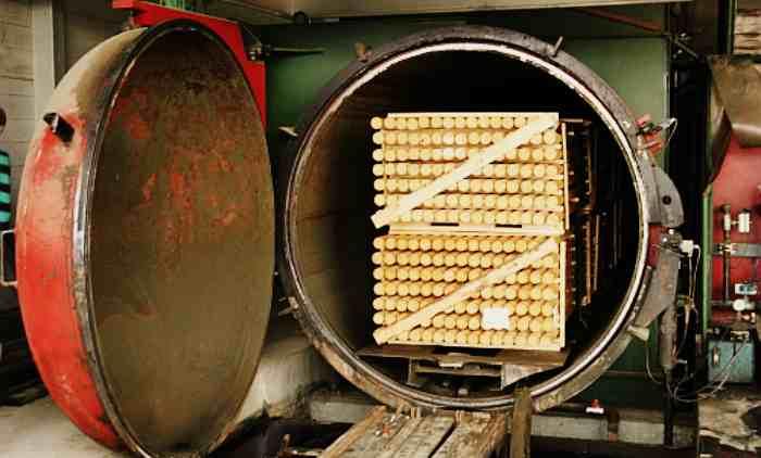 Автоклав для пропитки древесины под давлением
