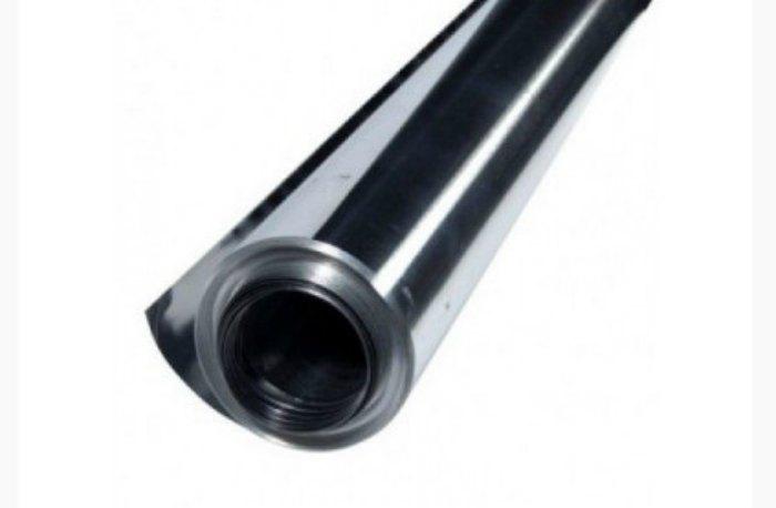 Фольга алюминиевая 100 мкм рулон 10 м/п / 12 м2