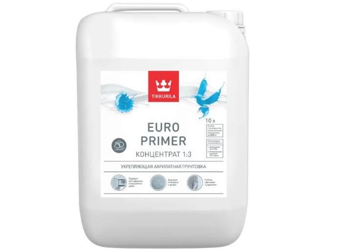 Грунтовка Tikkurila Euro Primer концентрат 1:3