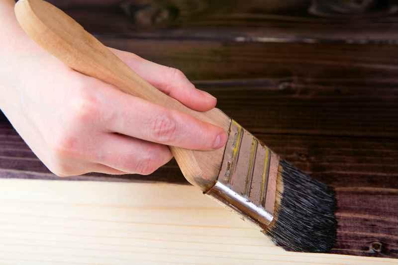 Покрытие пропиткой древесины