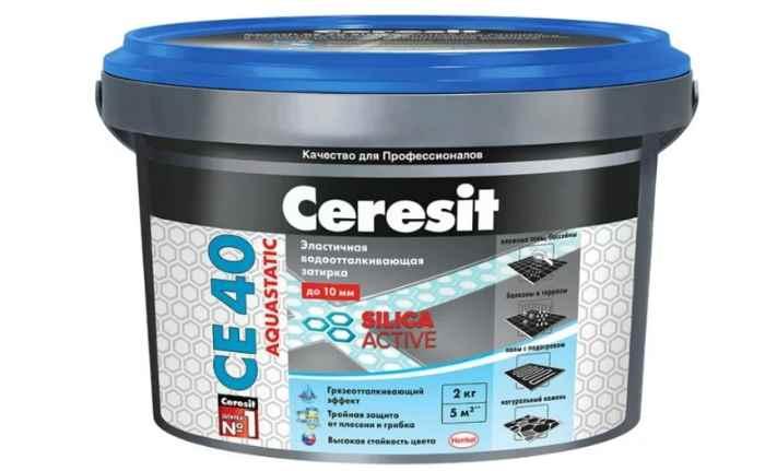 Ceresit CE 40 Водяная шпатлевка 2 кг