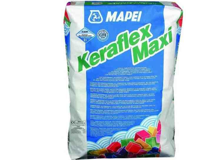 Клей для керамогранита Mapei Keraflex Maxi 25 кг