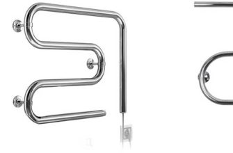 Разные формы электрического полотенцесушителя
