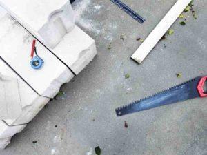 Ножовка для резки блоков