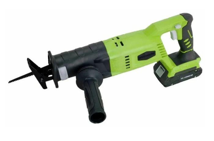 Аккумуляторная сабельная пила greenworks G24RS