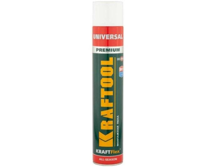 Монтажная пена Kraftool KraftFlex Premium Universal 41173_Z01 750 мл