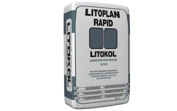 Штукатурка Litokol Litoplan Rapid, 25 кг