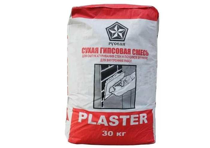 Гипсовая штукатурка Русеан Plaster, 30 кг