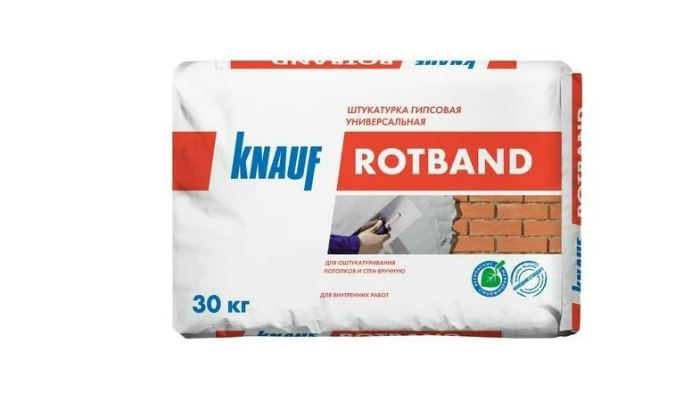Гипсовая штукатурка KNAUF Rotband, 30 кг