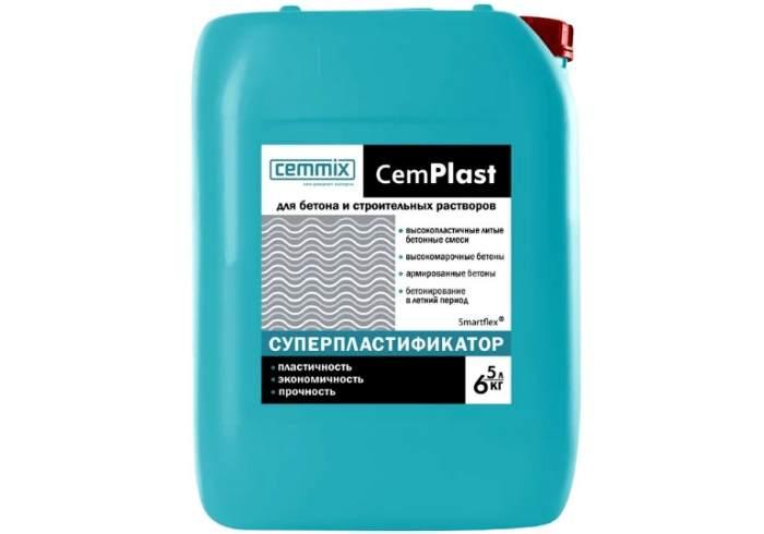 Добавка пластификатор Cemmix CemAqua 5 л