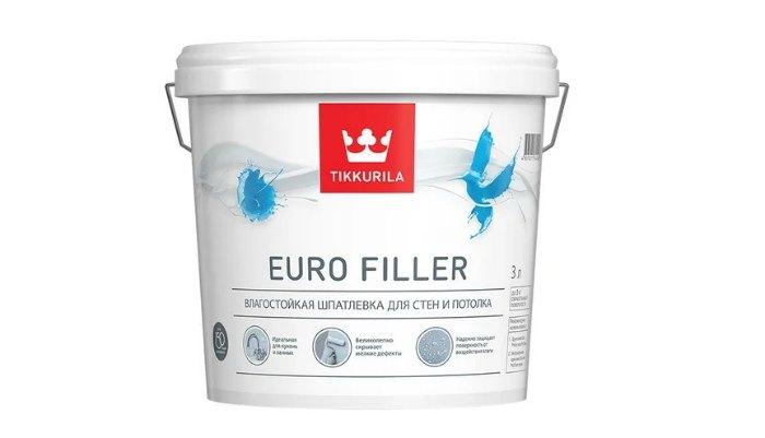 Шпатлевка Tikkurila Euro Filler