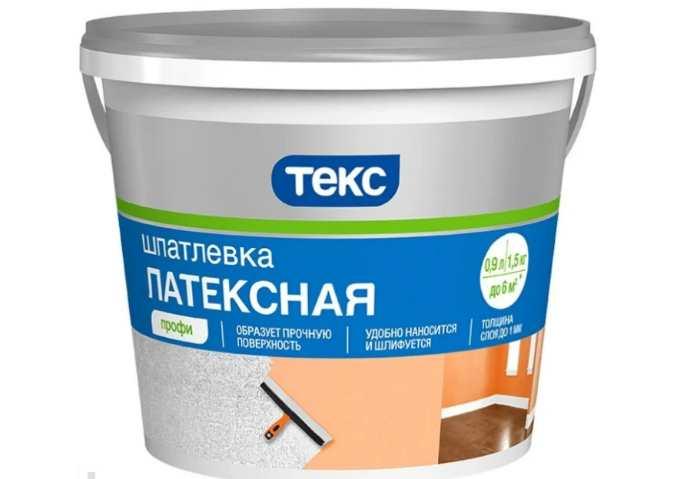 Шпатлевка ТЕКС латексная Профи (1,5 кг)