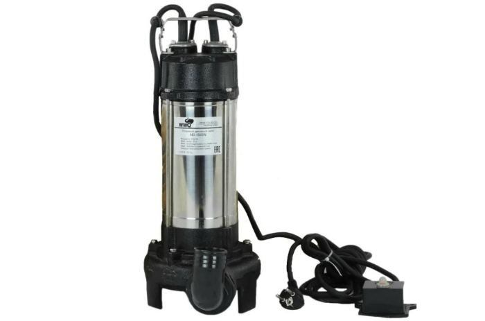 Фекальный насос WWQ NB-1500N (1500 Вт)