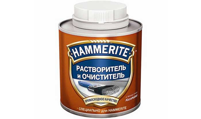 Hammerite растворитель и очиститель для лаков и красок 2,5л