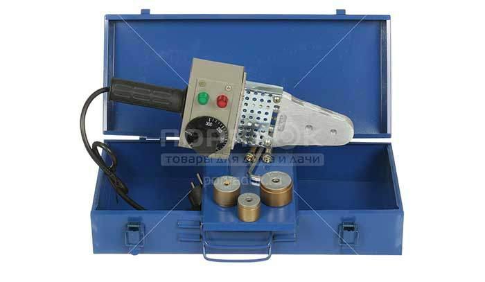 Аппарат для сварки пластика Aquaprom Р40/3, 1.5 кВт, 20-32 мм