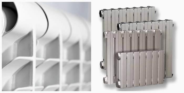 Биметаллические/чугунные радиаторы отопления