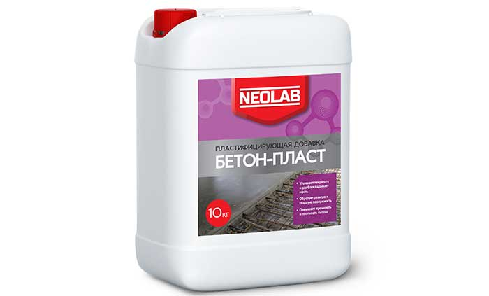 Добавка пластификатор БЕТОН-ПЛАСТ пластифицирующая добавка 10 кг
