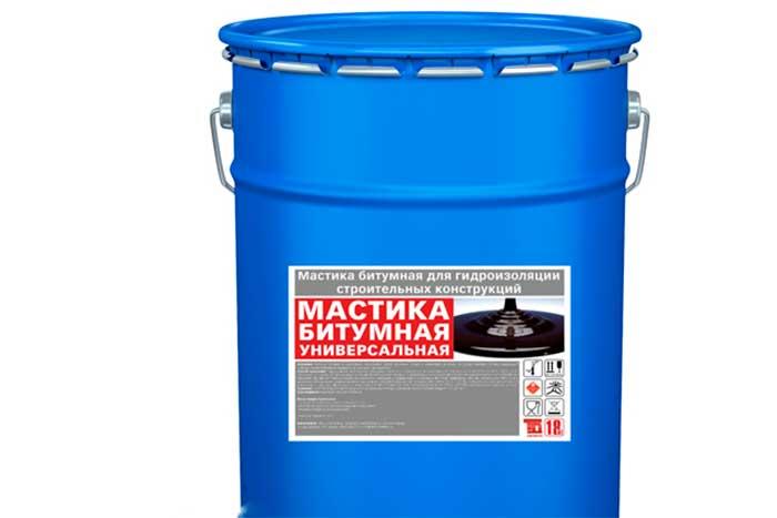 Мастика битумная универсальная, 18 кг