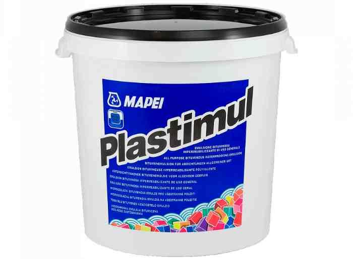 PLASTIMUL 12 кг – Универсальная гидроизоляционная эмульсия на основе битума