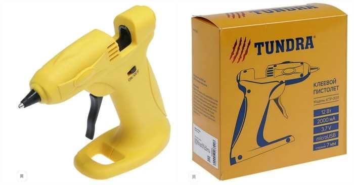 Клеевой пистолет TUNDRA KTP-0011 (4686963)
