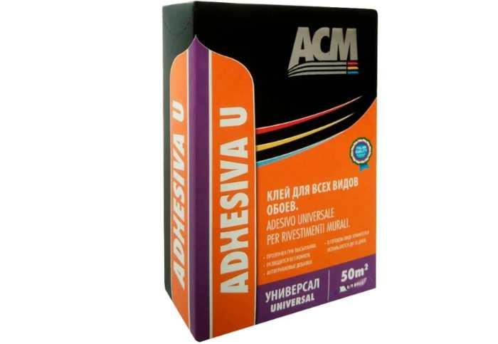 Клей для обоев ACM Adhesiva U Универсальный