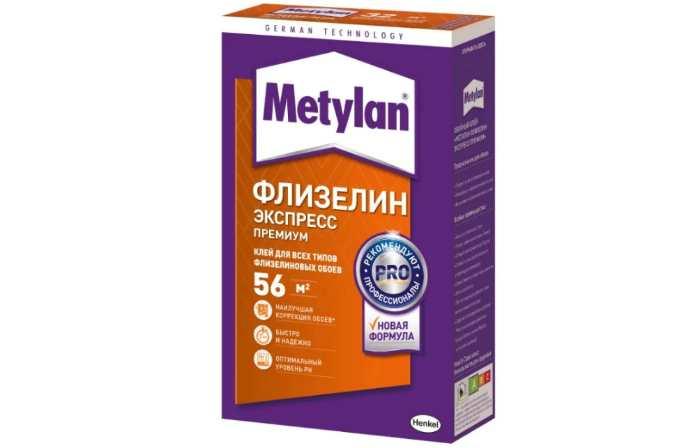 Клей для обоев Metylan Флизелин Экспресс Премиум