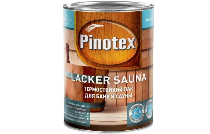 Лак Pinotex Lacker Sauna водорастворимый