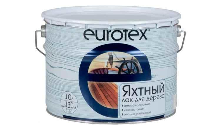 Яхтный EUROTEX Яхтный полуматовый алкидно-уретановый