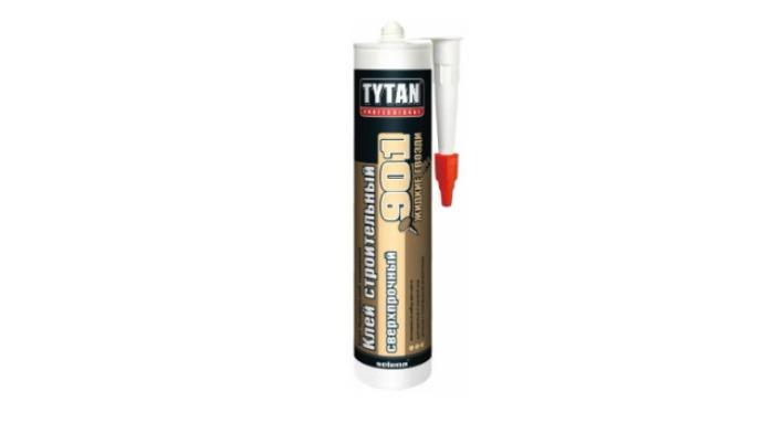 Монтажный клей Tytan Professional 901 сверхпрочный (380 г)