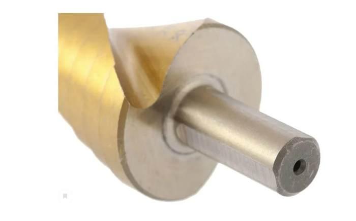 Сверло по металлу, ступенчатое matrix 72357 95 вид хвостовика