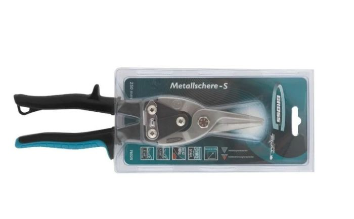 Строительные ножницы 250 мм Gross Piranha 78325