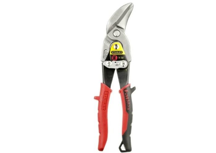 Строительные ножницы левые 250 мм STANLEY FatMax 2-14-567