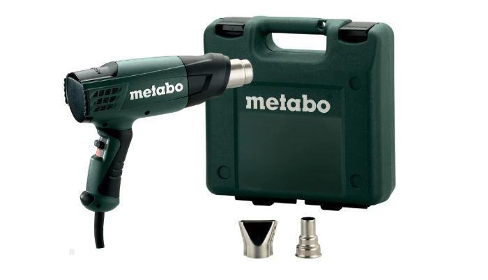 Строительный фен Metabo H 16-500 Case 1600 Вт с кейсом и насадками