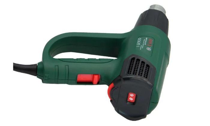 Строительный фен DWT HLP20-600 K BMC Case 2000 Вт