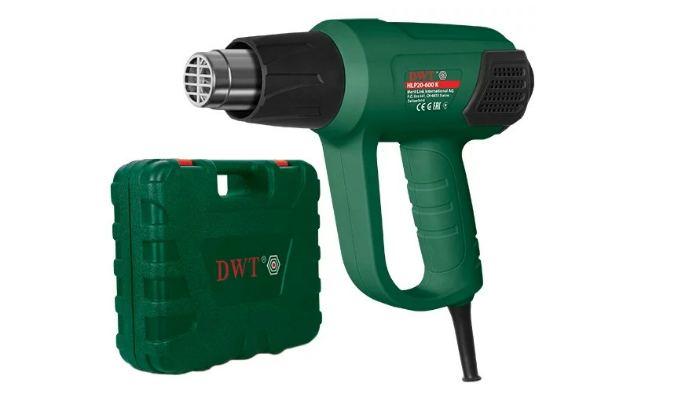 Строительный фен DWT HLP20-600 K BMC Case 2000 Вт с кейсом