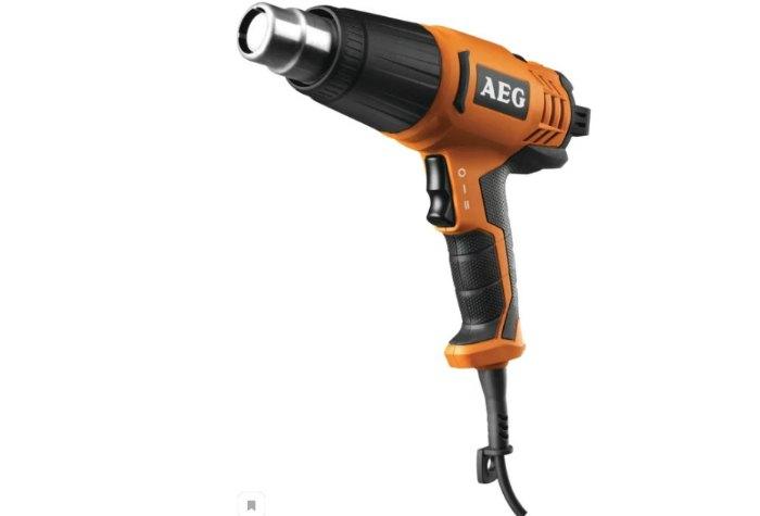 Строительный фен AEG HG 600 V 2000 Вт