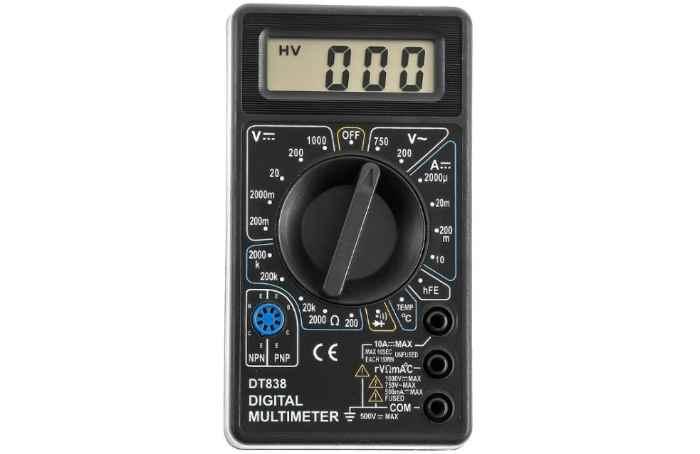 Мультиметр цифровой TEK DT 838