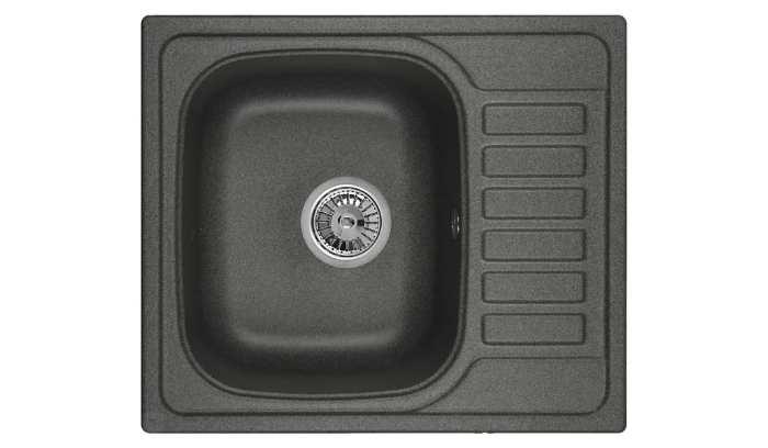 Врезная кухонная мойка Granula 5801 57.5х49.5см кварцевый искусственный камень