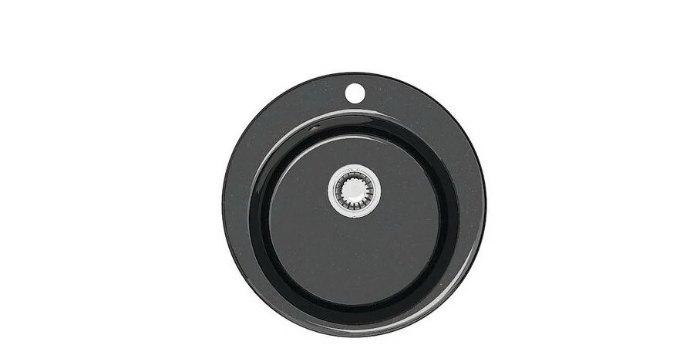 Врезная кухонная мойка Marrbaxx Виктори Z30 47.5х47.5см кварцевый искусственный камень