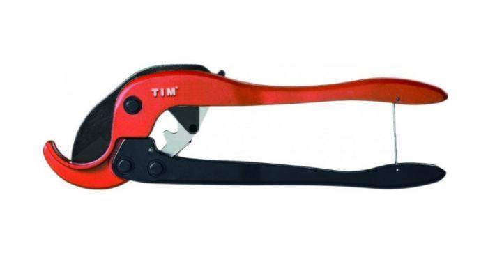 Ножницы для пластиковых труб TIM 160 (20-63мм)