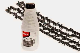Какое масло лить для смазки цепи бензопилы