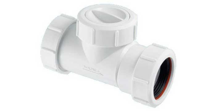 Обратный клапан для канализации McAlpine 50 (Z2850-NRV)