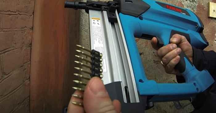 Как пользоваться гвоздезабивным пистолетом по бетону