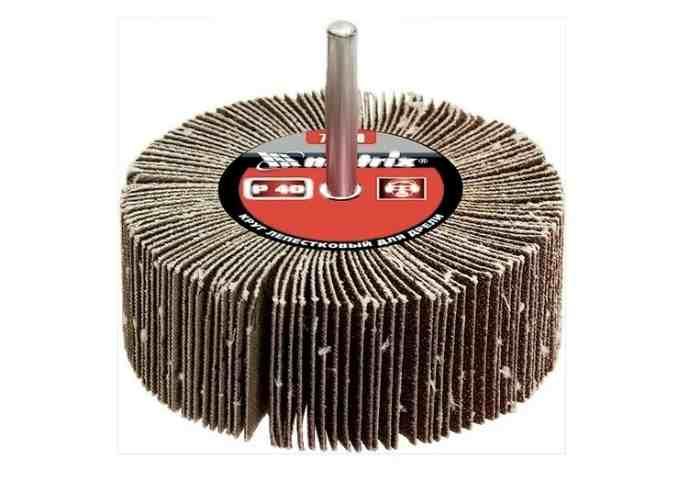 Круг лепестковый для дрели, P 80, 80х30х6 мм