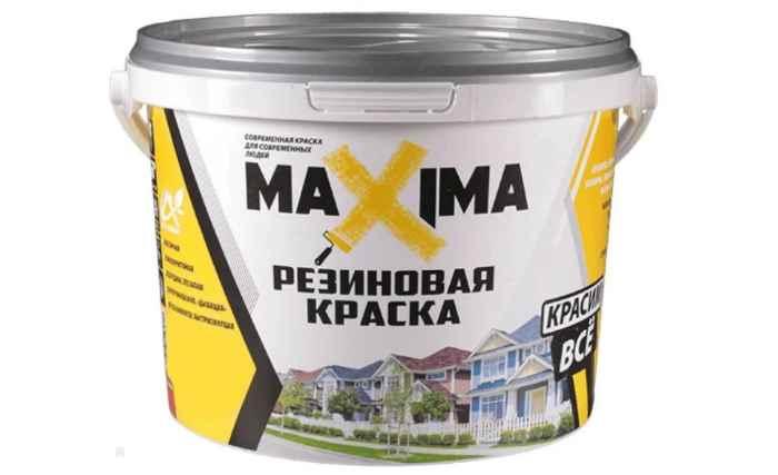 MAXIMA Резиновая влагостойкая матовая