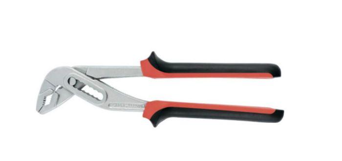 Клещи переставные NICKEL (белый) 250 мм, хром-ванадий, двухкомпонентные рукоятки MATRIX (15701)