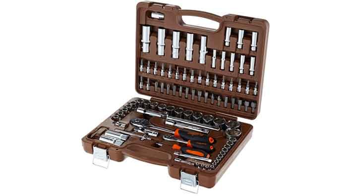 Набор автомобильных инструментов Ombra OMT94S, 94 предмета