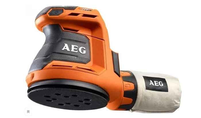 Аккумуляторная эксцентриковая шлифмашина AEG BEX 18-125-0 коробка