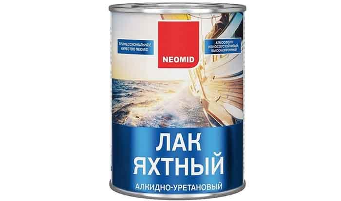 Лак яхтный NEOMID Yacht глянцевый алкидно-уретановый
